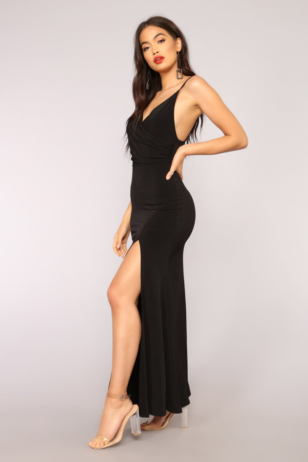 High Street Dress - Black
