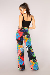 Viera High Waisted Dress Pants - Black
