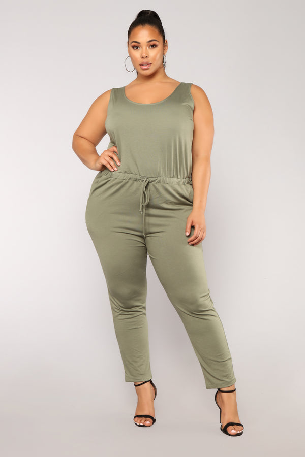 bb9e66f32a78 Sammy Lounge Jumpsuit - Dark Green