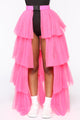 Oh So Winded Skirt - Pink