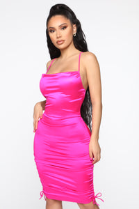 Going Places Dress - Magenta