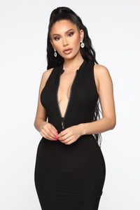 Always In Your Dreams Bodysuit - Black