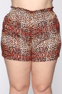 Something In The Air Shorts - Leopard