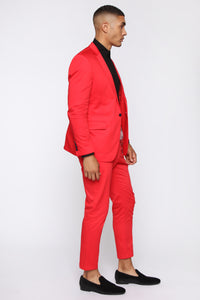 Rick Trouser Pants - Red