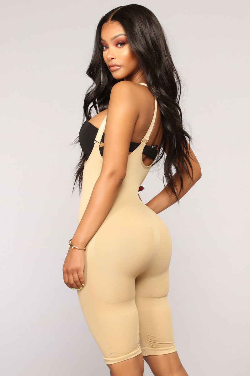 In All The Right Places Shapewear Shorts- Nude