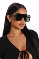 I Know You Will Sunglasses - Black