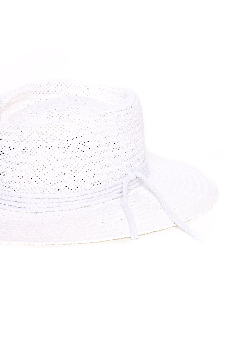 Vacation Ready Sun Hat - White