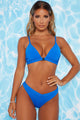 Splish Splash 2 Piece Bikini - Blue