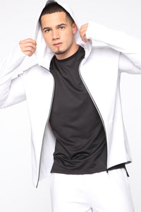 After The Run Jacket - White