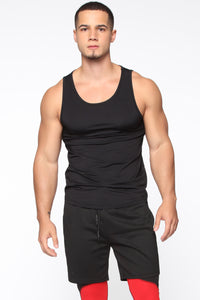 Pumped Up Tank - Black
