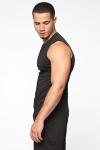 Rowland Muscle Tee - Black