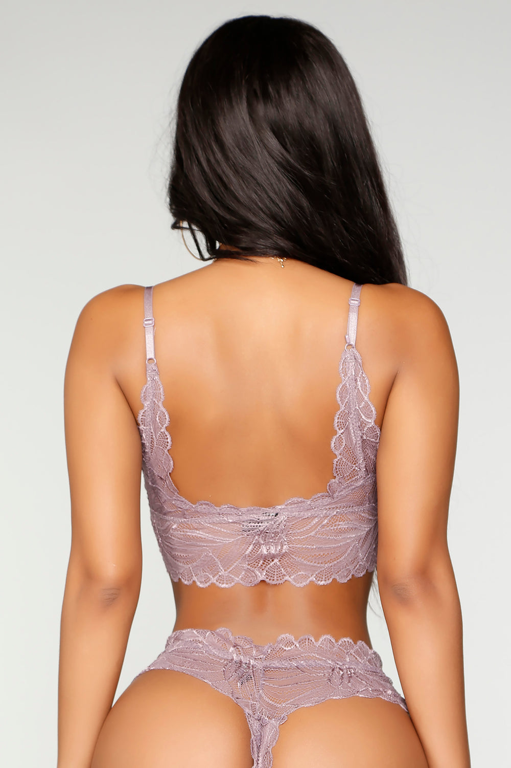 Perfect Ways Bralette and Panty - Lilac