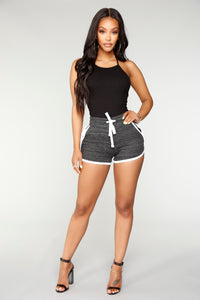 Rebekah Dolphin Shorts - Black/combo
