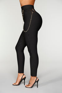 Bonnie High Rise Pants - Black
