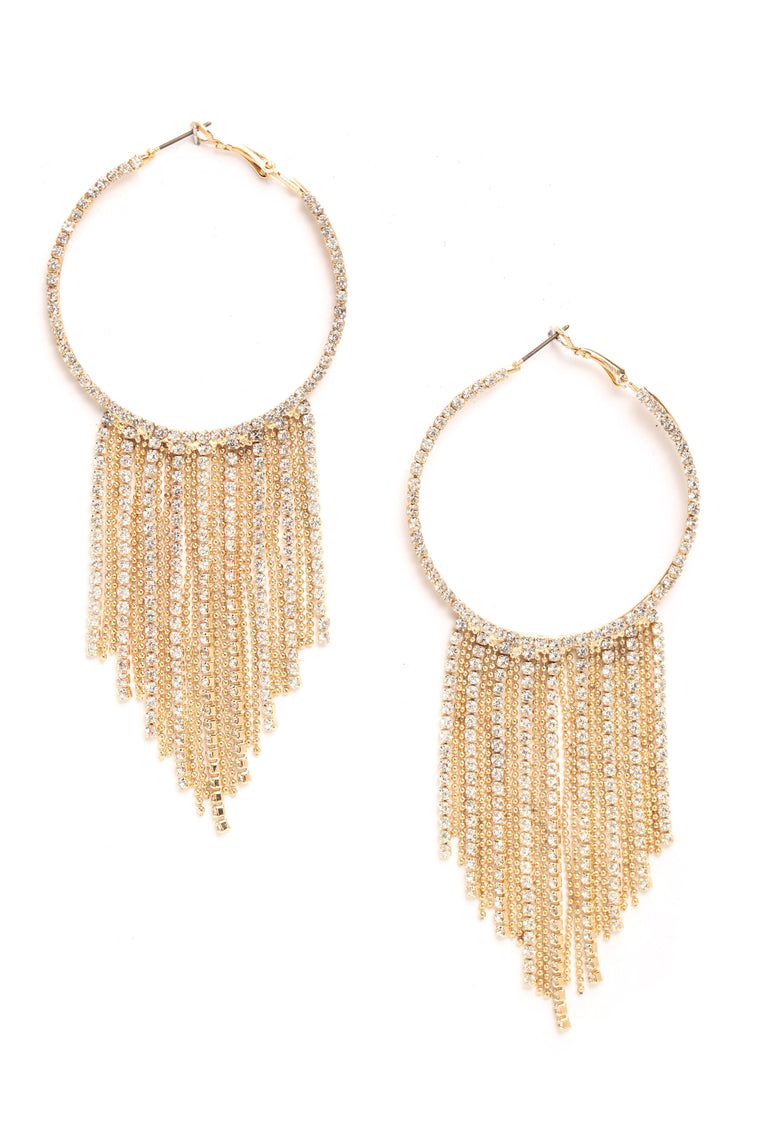 Jemma Hoop Earrings - Gold