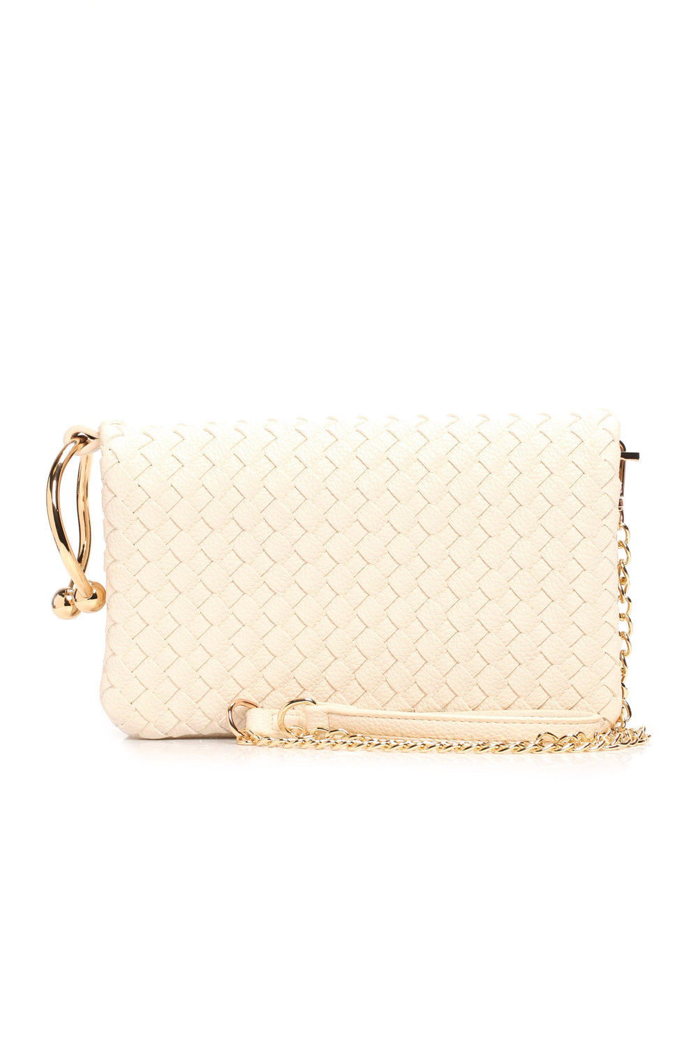 Bella Woven Bag - Cream