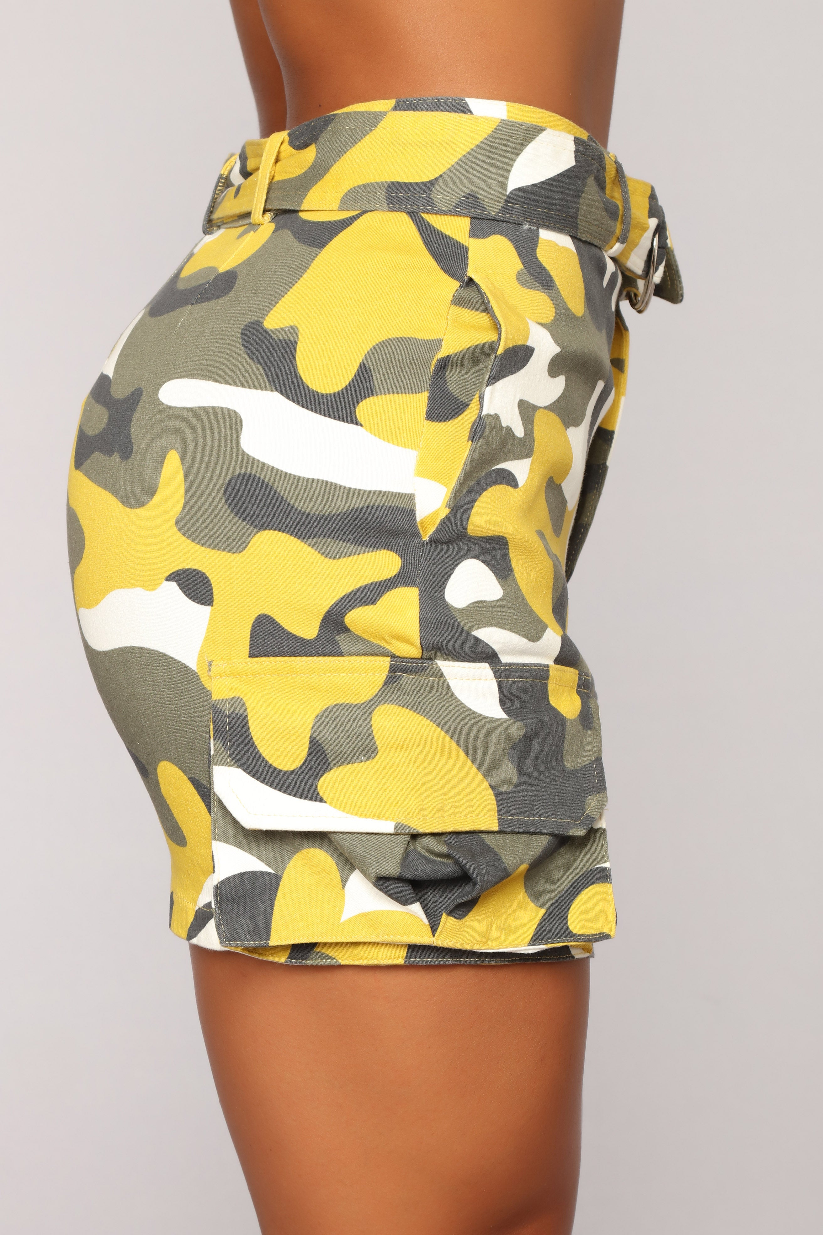 1c77ca2ebbb1e Survivor Camo Skirt - Yellow