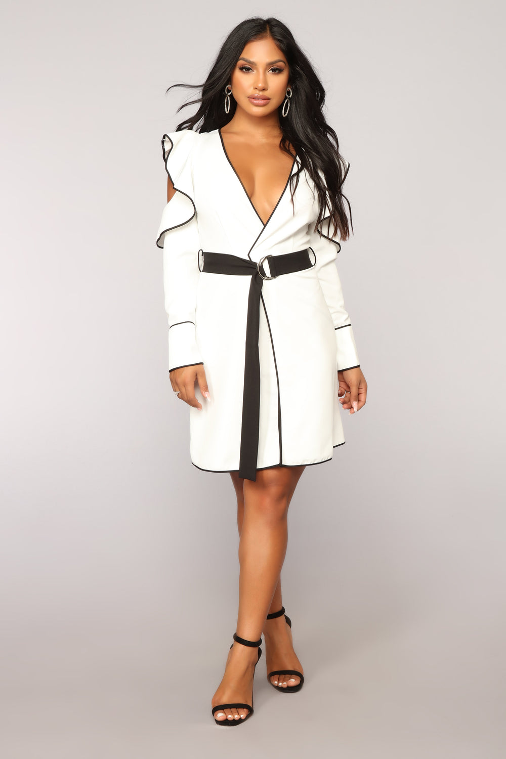 Seasons Of Love Dress - White