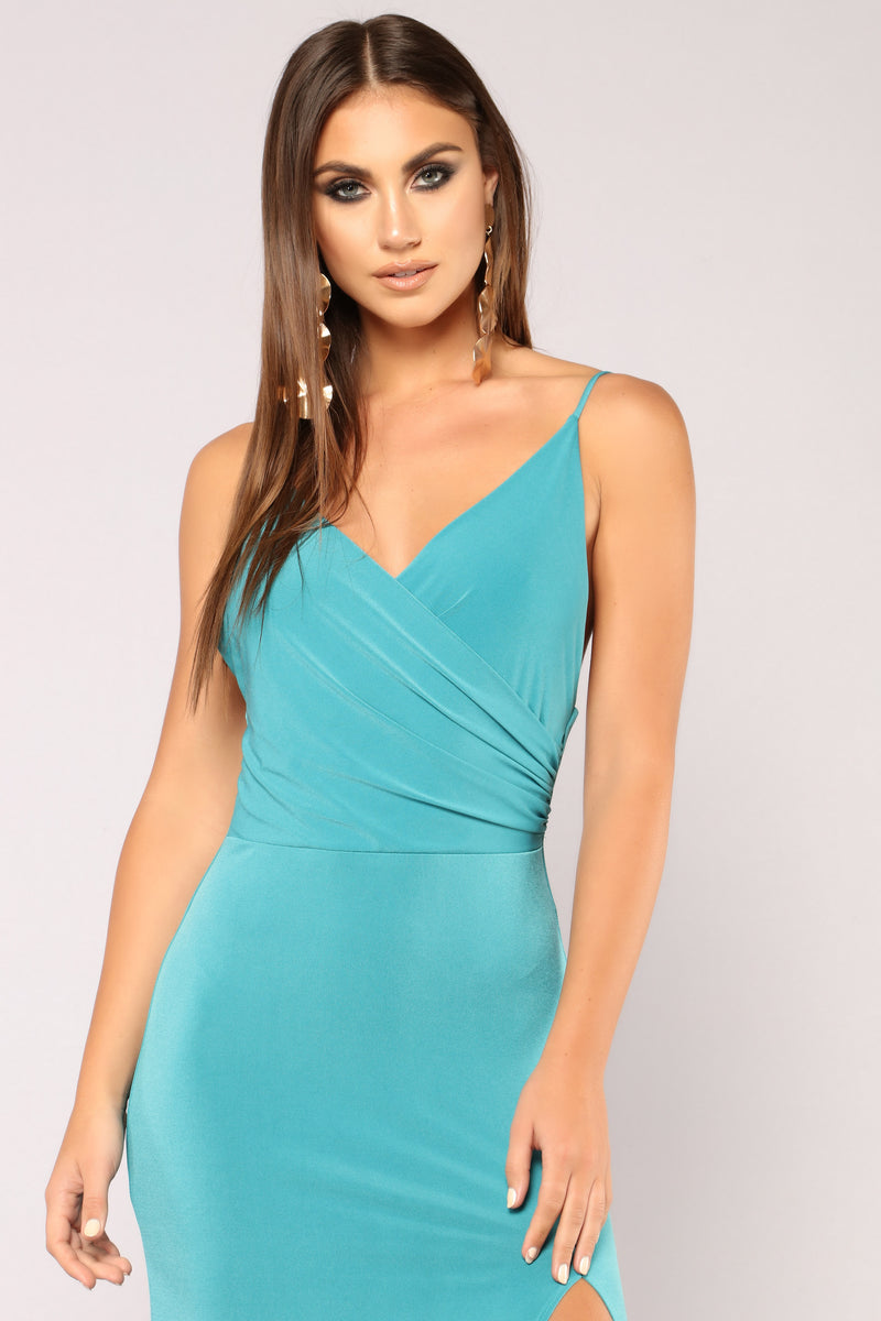 High Street Dress - Jade