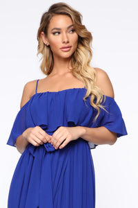 Got It Together Maxi Dress - Royal Angle 2
