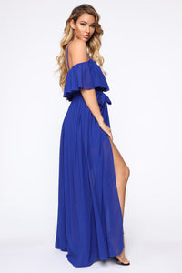 Got It Together Maxi Dress - Royal Angle 3