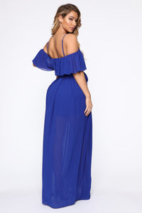 Got It Together Maxi Dress - Royal Angle 4