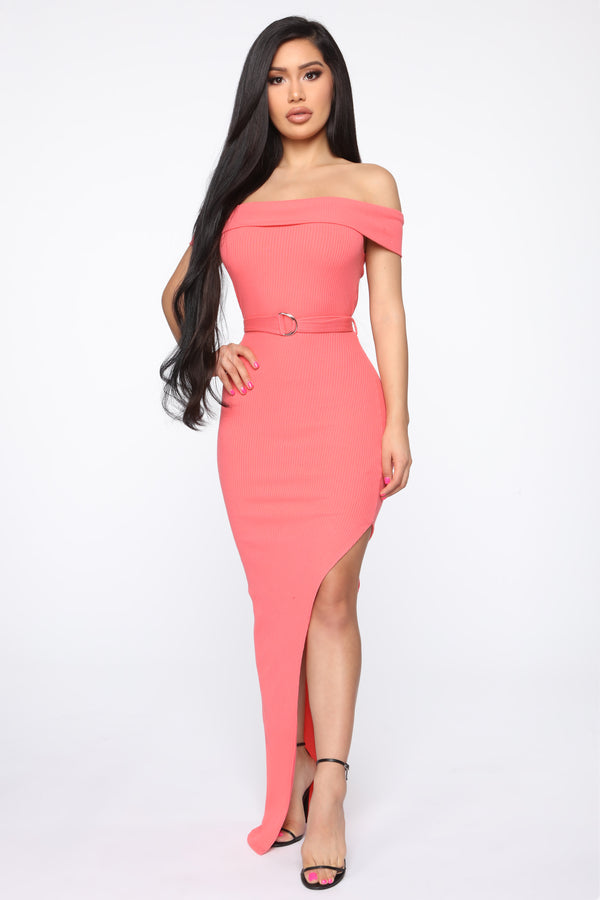 07fe46e4b040d The Heart Of The Matter Maxi Dress - Coral