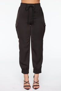 Go With Me On A Jogger - Black