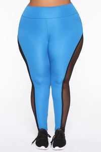 Finesse My Way Leggings - Blue/combo Angle 9