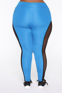 Finesse My Way Leggings - Blue/combo Angle 13