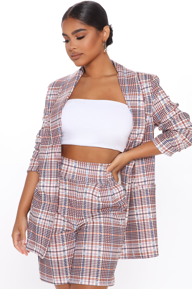 You See Me Coming Blazer - Multi Color
