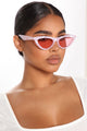 Beverly Babe Sunglasses - Pink/Pink