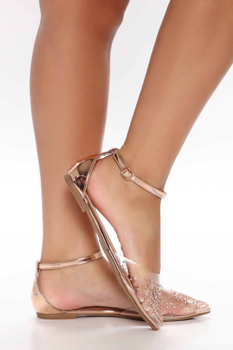 High Status Flats - Rose Gold, Shoes