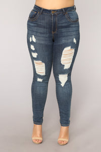 Remember Last Night Jeans II - Dark Stone Wash