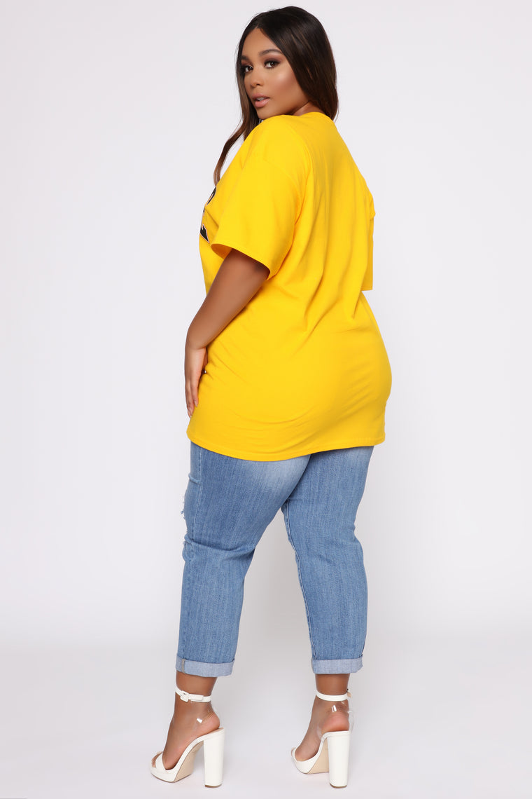 Sav Tunic Top - Mustard