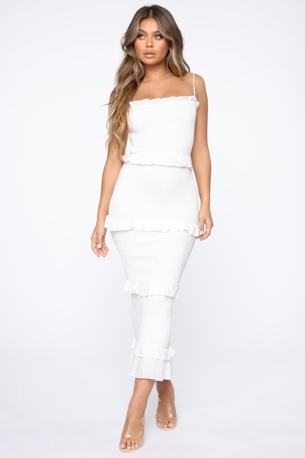 eb613d2272 Time To Get Away Maxi Dress - Ivory