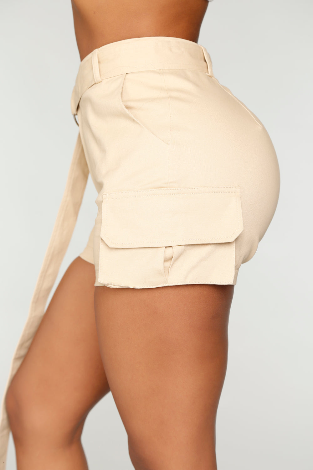 Jane In The Jungle Shorts - Taupe