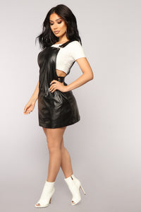 Jukebox Baby Mini Dress - Black