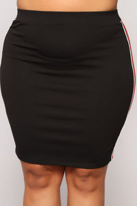 Catherine Mini Skirt - Black
