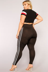 Not Your Average Active Leggings - Black