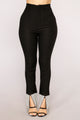 A Girl's Best Friend Pants - Black