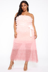 Moment For Myself Maxi Dress - Rose