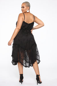 Sweetest Lover Dress - Black