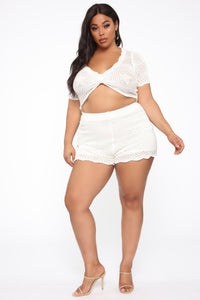 Festival Cutie Crochet Set - Off White