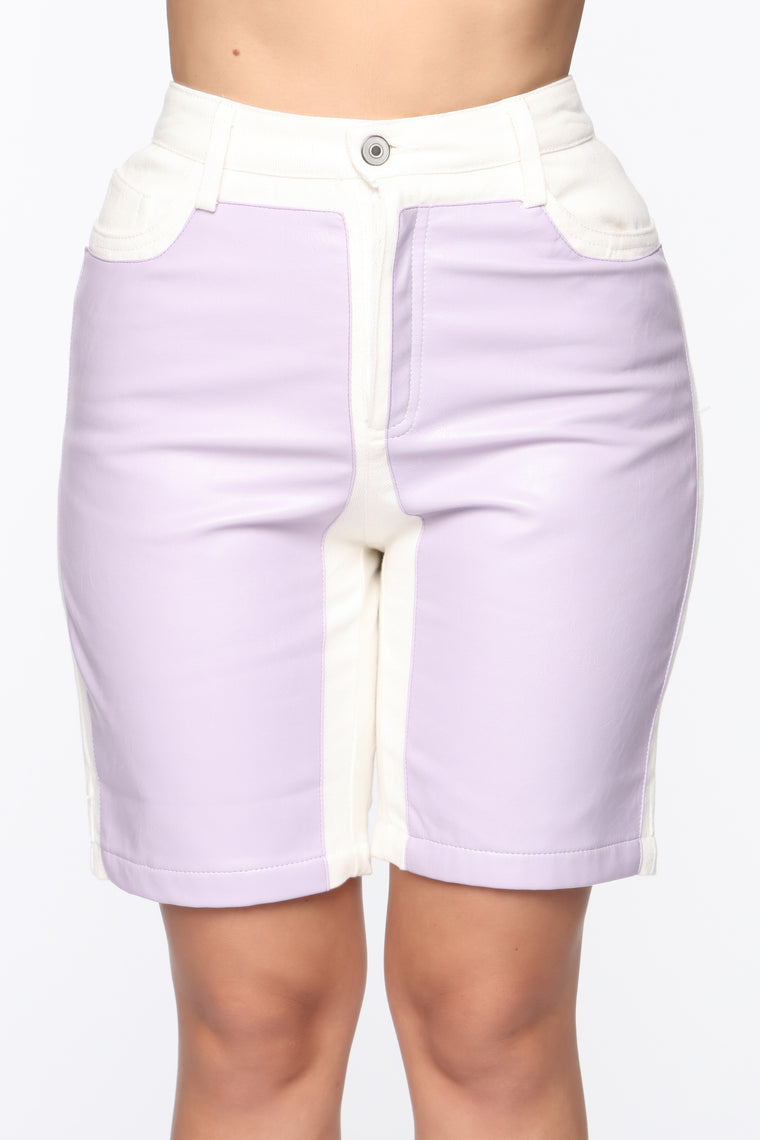 Come Through Drippin' Shorts - Lavender/Combo