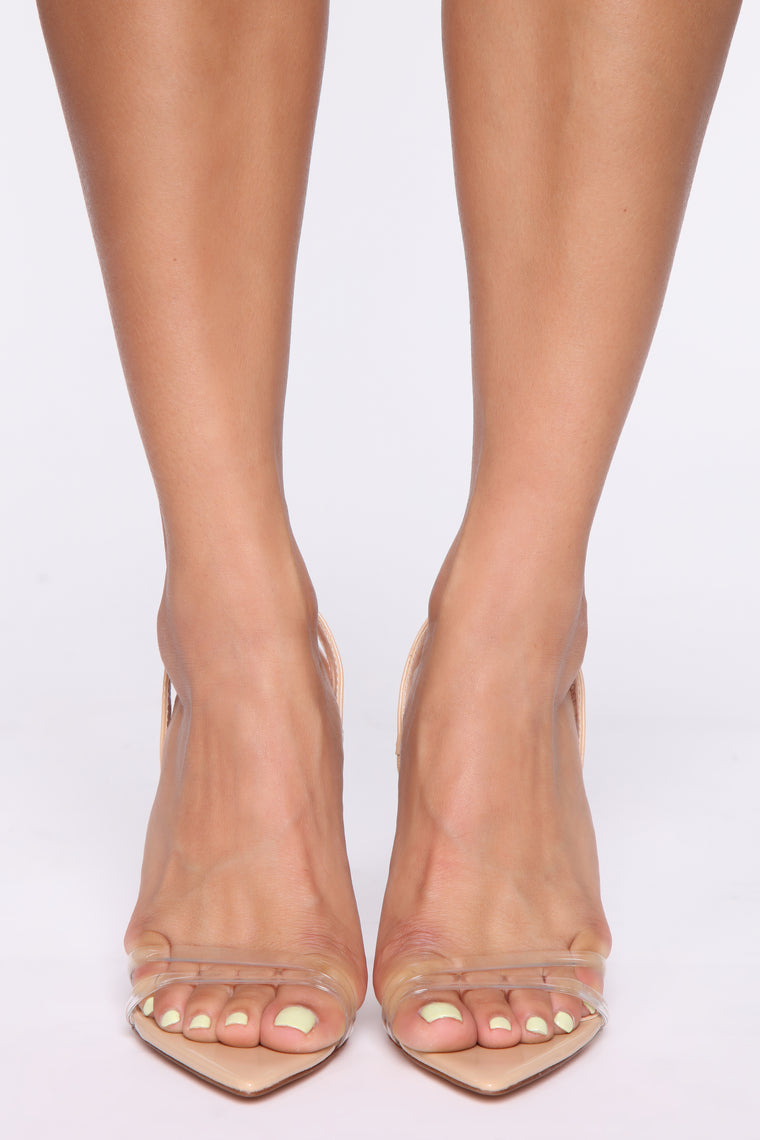 Leverage Over You Heeled Sandals - Nude