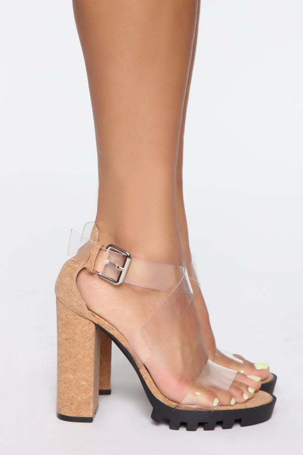 9667b1dd4 Well Aware Heeled Sandals - Cork
