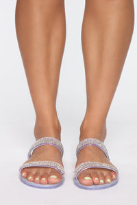 Star Of The Night Flat Sandals - Clear