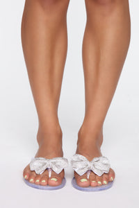 Oh You Cute Flat Sandals - Clear Angle 1