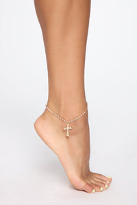 Play Nice Anklet - Gold